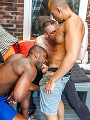 Derek Reynolds::Jordano Santoro::Ryan Russell - in Gay Porn View