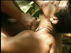 Hardcore brazilian anal in the jungle in 5 movie