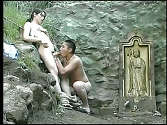 Eastern fruit cocksuckers sexually inveigled for a massive prick outdoor in 2 episode