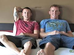 Corey and James