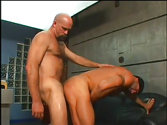 The boss purchases a constricted ass fucking in 4 episode