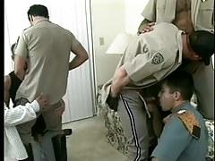 Damp fruit policemen uniform porn raw gangbang in 7 clip