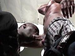 Harsh gangsta gays make steamy anal