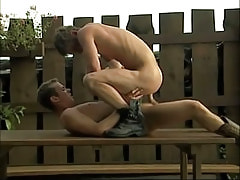 Naughty lad crazy jumps on cock