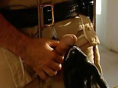 Mature policeman spoils amateur guy after work